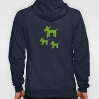 Dogs-Green Hoody