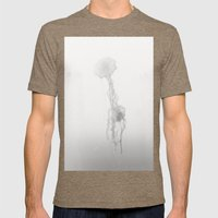 Fading to Light Mens Fitted Tee Tri-Coffee SMALL