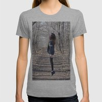Ghost Womens Fitted Tee Athletic Grey SMALL