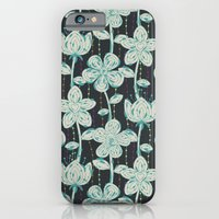 My Grey Spotted Flowers. iPhone 6 Slim Case