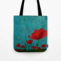 Flowers: Poppy Tote Bag