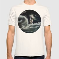Man Overboard Mens Fitted Tee Natural SMALL