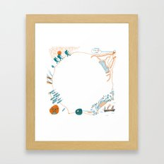 Journey to the Center of the Earth Framed Art Print