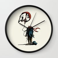 And His Head Swelled Wit… Wall Clock