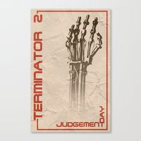 T2 Judgement Day Canvas Print