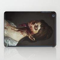 Old Zombie Portrait iPad Case