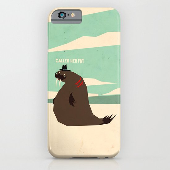 W is for walrus iPhone & iPod Case