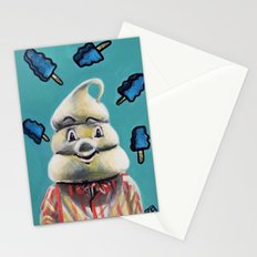 Pete and Pete Mr Tastee - Blue Tornado Bar Stationery Cards