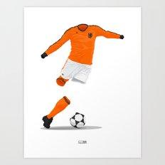 Netherlands (KNVB) 1978 Art Print
