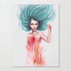 Melting Canvas Print