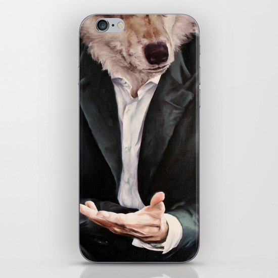the politician iPhone & iPod Skin