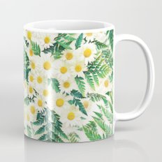 Textured Vintage Daisy A… Mug