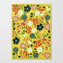 Flourishing Florals Canvas Print