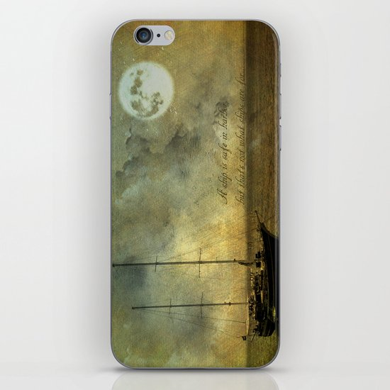 A ship 2 iPhone & iPod Skin