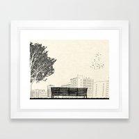 Tom's Favourite Spot —… Framed Art Print