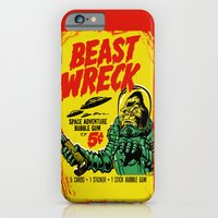 iPhone Cases featuring BEASTWRECK ATTACKS! by BeastWreck