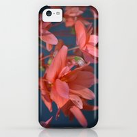 iPhone Cases featuring Trailing Red Begonia by Lena Photo Art