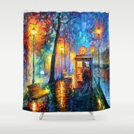 The Doctor Starry The Ni… Shower Curtain