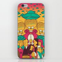 Mars Attacks! iPhone & iPod Skin