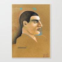 Portuguese... Canvas Print