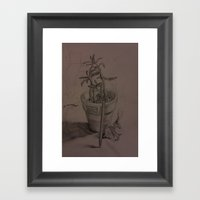 Plant Still Life 1 Framed Art Print