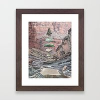 Sharpen Framed Art Print