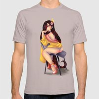 Oriental Namakashii Mens Fitted Tee Cinder SMALL