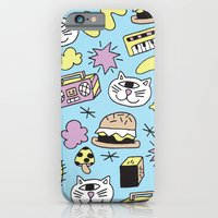 iPhone & iPod Case featuring Cat Jams by Frenemy