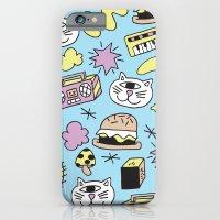 Cat Jams iPhone 6 Slim Case