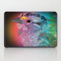 Rainbow Bird iPad Case