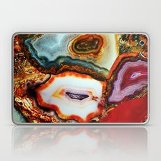 Agate, the Layers of our Earth Laptop & iPad Skin