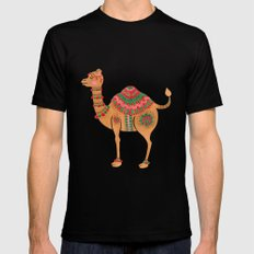 The Ethnic Camel Mens Fitted Tee Black SMALL