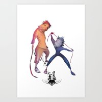 Folkbol Ps Art Print