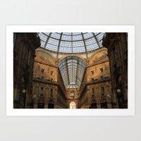Galleria Vittorio Emanue… Art Print