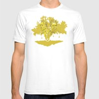 True Detective Mens Fitted Tee White SMALL