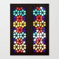 Stained In Ukraine Canvas Print