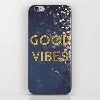 Good Vibes iPhone & iPod Skin