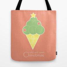 cold and sweet Christmas Tote Bag