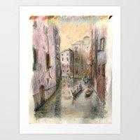 Girona Art Print