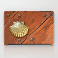 Gold shell iPad Case
