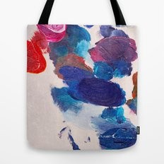 Painter's Palette Tote Bag