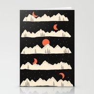 Moonrises...Moonsets... Stationery Cards