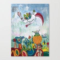 Bird of Possibility Canvas Print