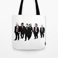 Reservoir Horror Icons Tote Bag