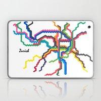 Zurich Metro Map Laptop & iPad Skin