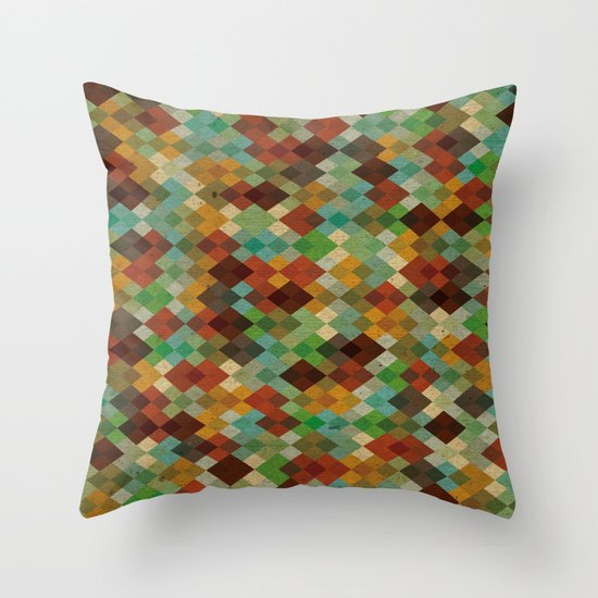 Deckled Formation Throw Pillow