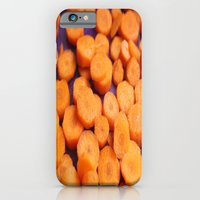 iPhone Cases featuring Carrot  by Meriliv