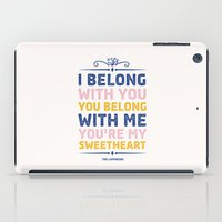 I Belong With You iPad Case