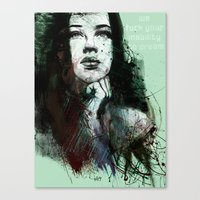 About Youth Canvas Print