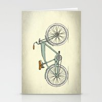 Retro-bicycles (1903) Stationery Cards